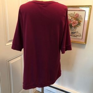 Fashion Bug Tops - Purple Tunic Top